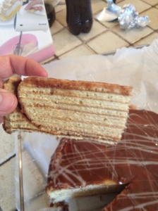 Decent layers - shame about the taste!
