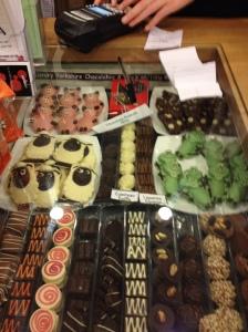 Local Yorkshire chocolates - yum!