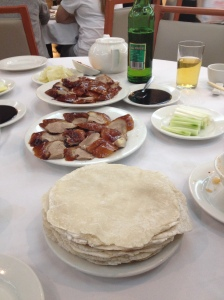 Peking duck from Spring Deer, Hong Kong