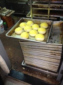 Pineapple buns on the Hong Kong Foodie Tour