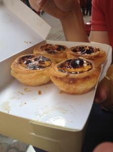 Egg tarts at Margaret's in Macau