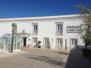 The outside of the Pousada Cascais hotel