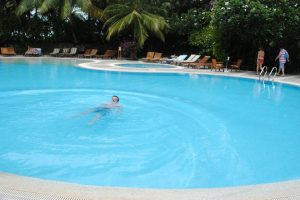 Kuramathi Island Resort swimming pool