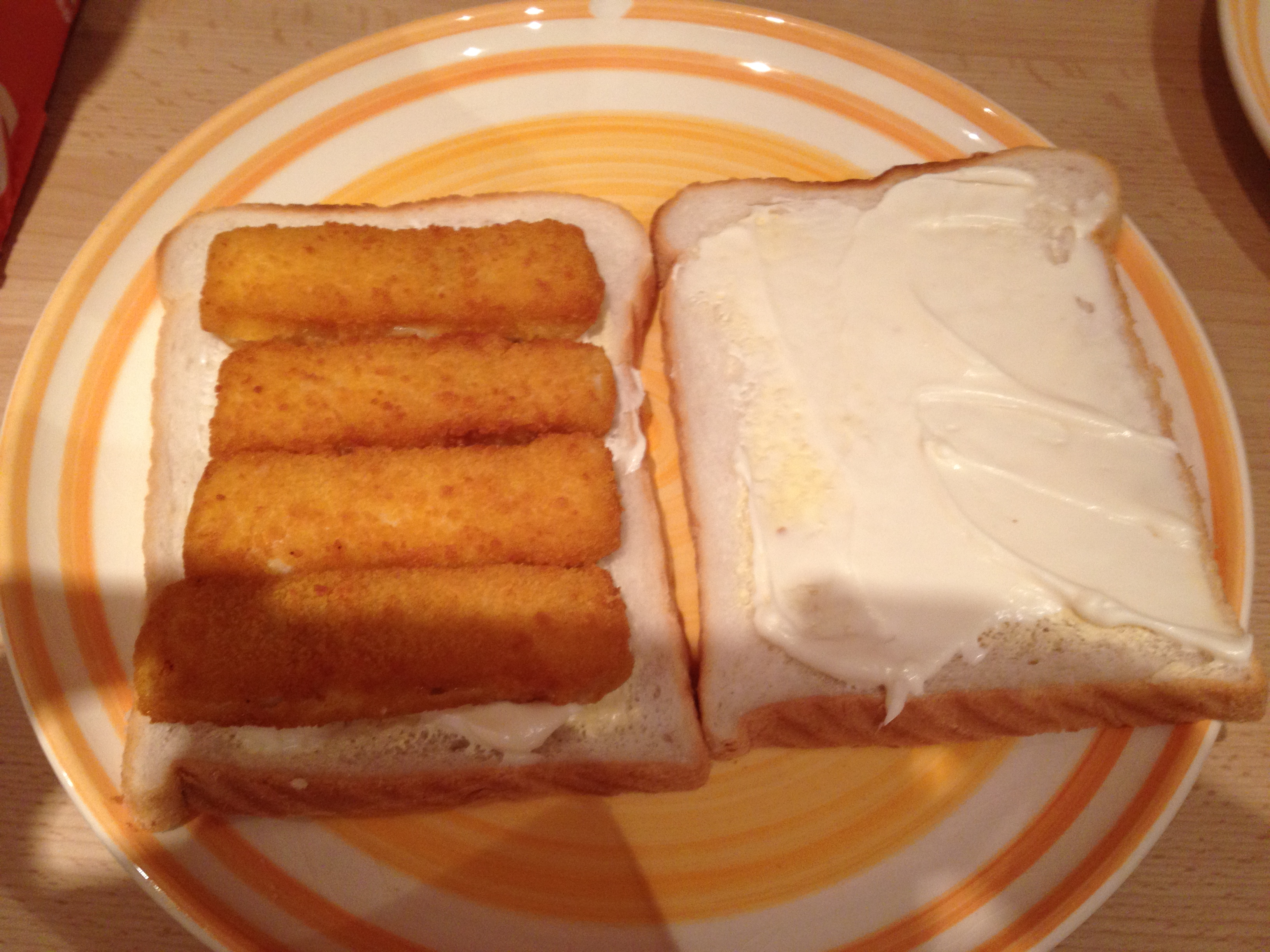 Why sometimes you can t beat a fish finger sandwich for Fish sandwich near me