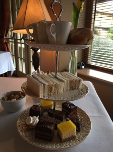 Afternoon tea at Ox Pasture Hall