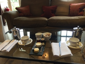 Afternoon tea at The Samling