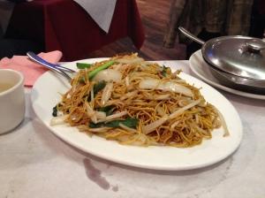 Noodles at Ho's in Leeds