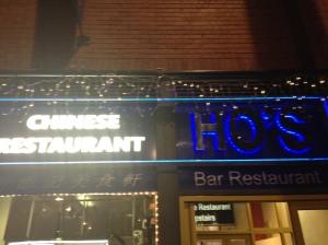 Ho's in Leeds, Chinatown
