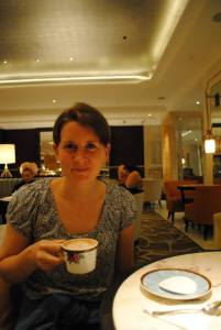 Tea at The Langham Hong Kong