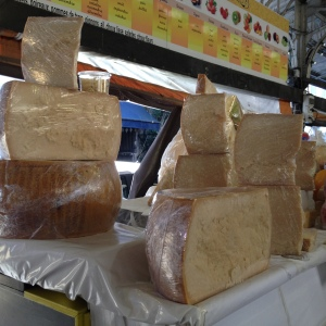 Antibes cheese stall