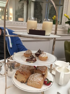 Afternoon tea at Palm Court, The Balmoral