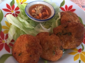 Thai fish cakes at Zaap Thai, Leeds