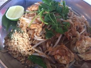 Pad Thai at Zaap Thai in Leeds