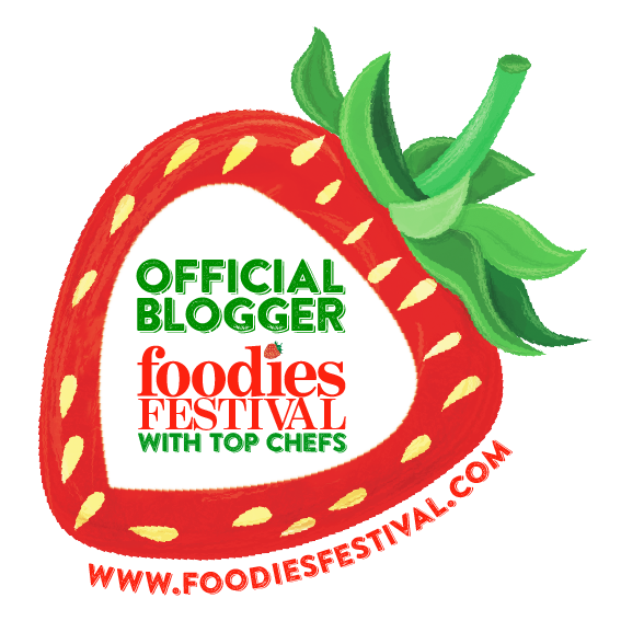 Foodies Fest Official blogger