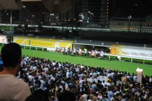 Happy Valley Races Hong Kong