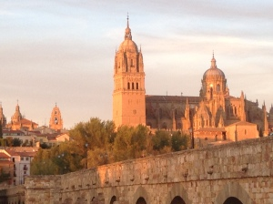 Evening view Salamanca