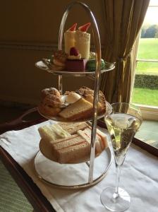 Afternoon tea at Middlethorpe Hall