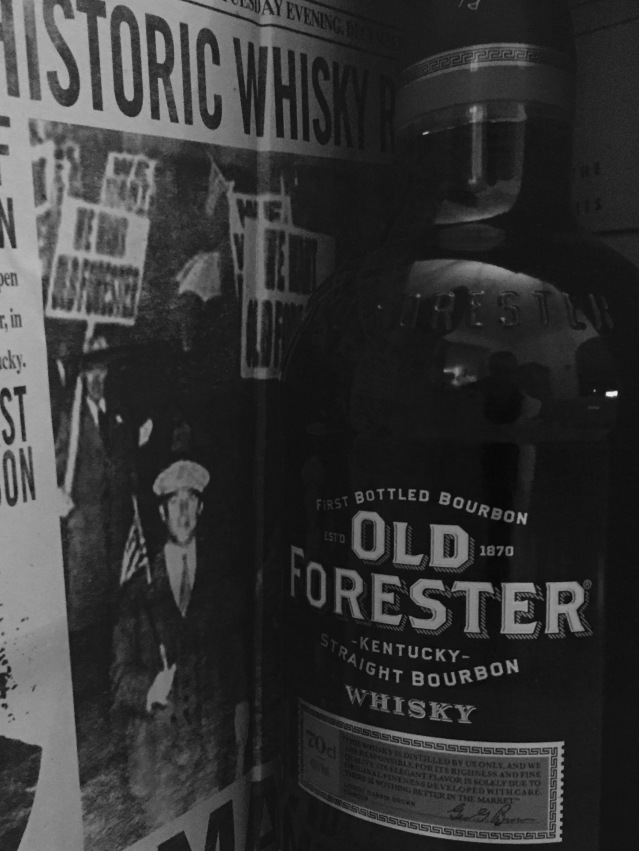 Old Forester Repeal Day cocktail