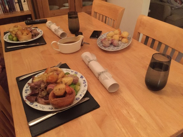Aldi Christmas dinner 2015