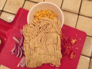 Noodley goodness!