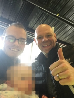 Tom Kerridge selfie