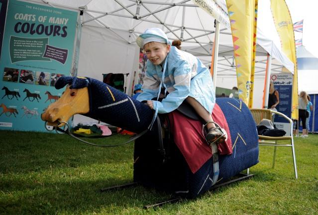 Children's Day at Ripon Racecourse.Copyright Ripon Racecourse