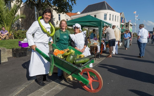 Guernsey International Food Festival 2015 - Seafronf Sunday with JC Novelli.